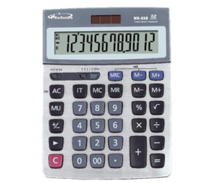 12 Digits Big LCD Desktop Calculator NS-638