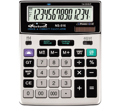 12 Digits Business Calculator NS-516