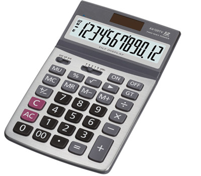 12 Digits Electronic Calculator NS-120TV