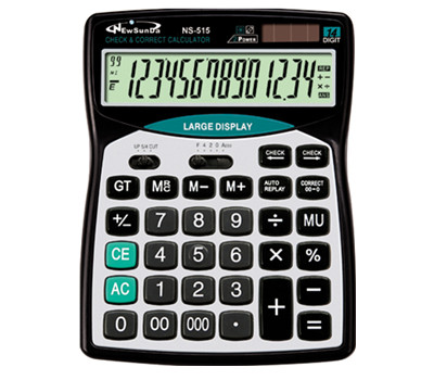 12 Digits LCD Desktop Calculator NS-628