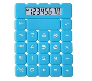 8 Digits silicon rubber key calculator NS-6010