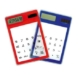 8 digit solar transparent calculator NS-6004
