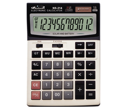 Calculator Factory Desktop Calculator NS-214