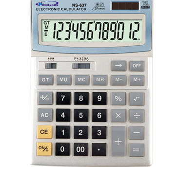 Calculator for Desktop CE FCC Approval NS-637