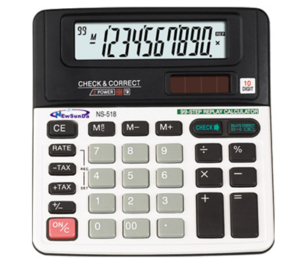 Check & Correct Calculator NS-518