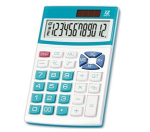 Color Key Desktop Calculator NS-312N