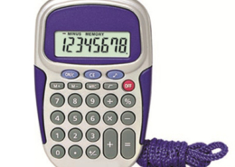 Handheld Calculator NS-823