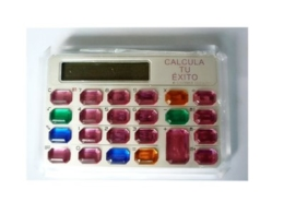 Mini colorful key calculator NS-6003