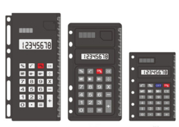 Notebook Calculator NS-293