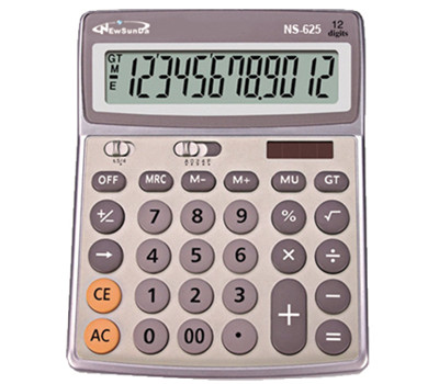 Round Key Desktop Calculator NS-624