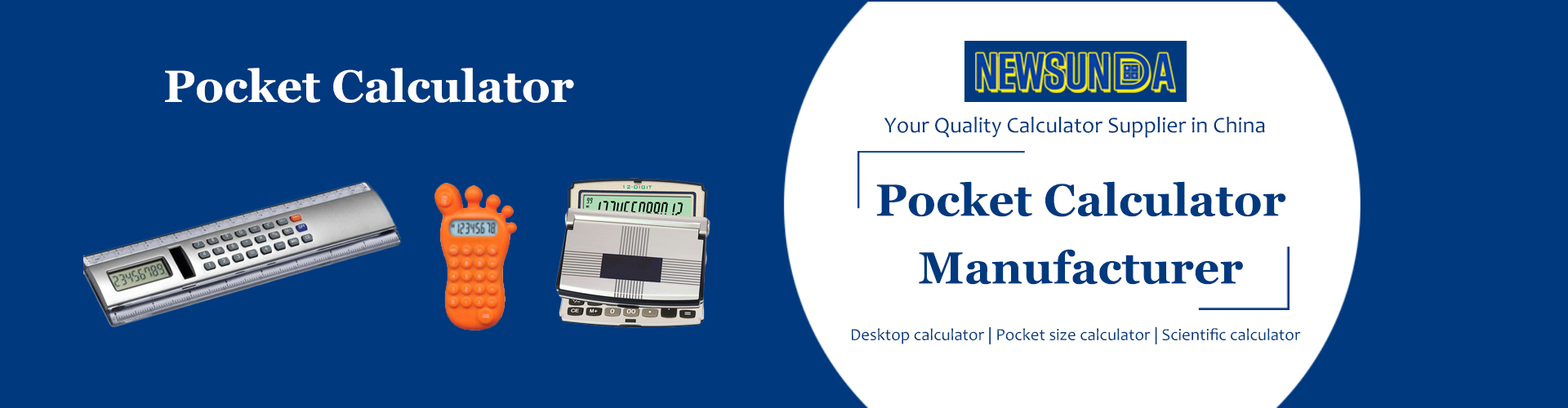 Pocket-calculator-Manufacturer-Banner